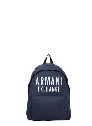 Armani Exchange Armani Exchange 952199 9A124 37735 Logo Baskılı Sırt Çantası Lacivert